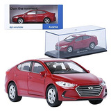 Pino B Y D Hyundai Avante Ad 138 Rojo Display Mini Coche Mi