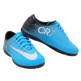 Chuteiras Cr7 Azul De Birro Futsal - Chuteiras no Mercado Livre Brasil 81d6472b217f7