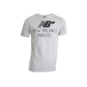 Remera New Balance Numeric Handdraw Mt73572ag