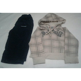 Lote Pantalon Y Buzo Bebe Niño 5 A 8 Meses Aprox