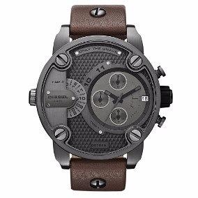 Relógio Diesel Dz7258 Marrom Couro Promocional