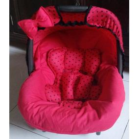 Capa Para Bebe Conforto Completo Meninas 4 Itens