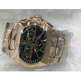 Relógio Tonino Lamborguini Gt1 Rose Mostrador Preto