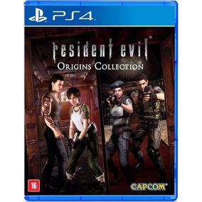 Resident Evil Origins Collection - Midia Fisica - Ps4 - Novo