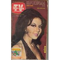 Olga Breeskin En Portada De Revista Teleguia No.1375