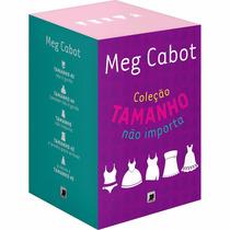 Livro Box Meg Cabot Coleção Tamanho Não Importa
