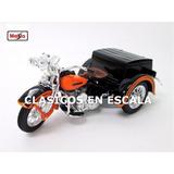 Harley Davidson Servi Car 1947 Triciclo - Moto Maisto 1/18