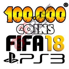 100.000 Coins Fifa 18 Ps3 Ultimate Team - Playstation 3