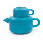 Juego De Te Diseño Ceramica Tetera Taza