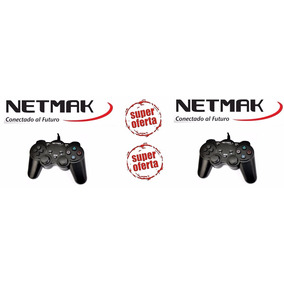Joysticks Netmak Ps2 Nm2004 X 2 Unidades..