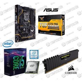 Combo I5 8600k Tuf Z370