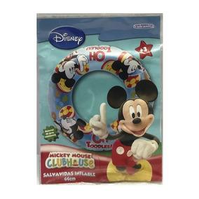 Salvavidas Inflable Mickey Mouse 44 Cm Jugueteria Aplausos
