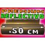 Vinilo Textil Reflex Reflectivo Termotransferible 1 X 0,5m