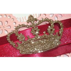 Figuras De Corona De Princesas, Decoración De Invitaciones