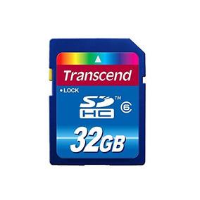 tarjetas de memoria sdhc clase 6