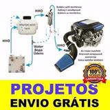 Kit Projeto Gerador Hidrogênio O Mais Completo Do Ml
