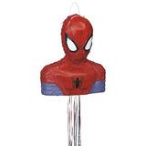 Spiderman Piñata, En Forma De Cadena De Tracción
