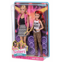 Brinquedo Novo Boneca Barbie E Skipper Original Mattel Cgf36