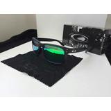 Holbrook Black Matte Green Polarized