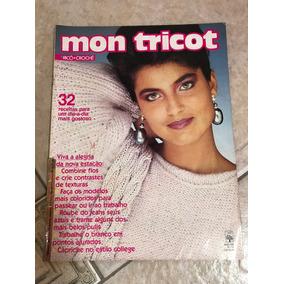 Revista Mon Tricot 32 Receitas - Livros no Mercado Livre Brasil 9f2f8434bcd