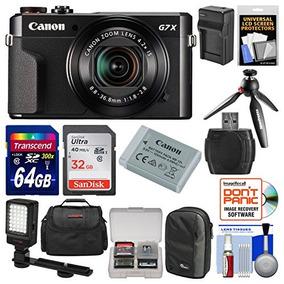 Canon Powershot G7 X Mark Ii Cámara Digital Wi-fi Kit Cread