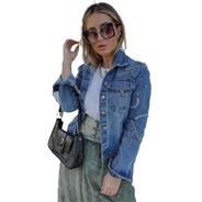 Jaqueta Jeans Feminina True By Michelle Fernandez