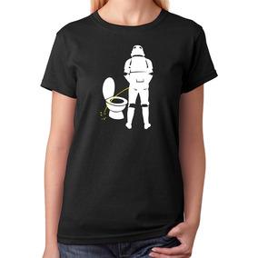 Camiseta Baby Look Exército Clone Império Ruim De Mira M2011