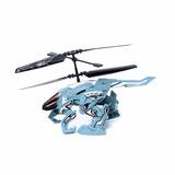 Heli Beast Helicóptero Dron Radio Control Camina Y Vuela
