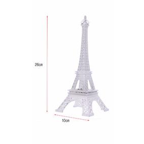 25 Torres Eiffel Luz Led Fiesta