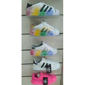 Adidas Super Star Colores Rastafari Unisex Moda 2016