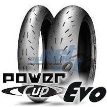 Pneu 17 180-55-17 120-70-17 Michelin Power Cup Evo