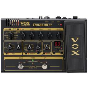 Pedaleira Vox Tonelab St Valvulada Para Guitarra Conexão Usb