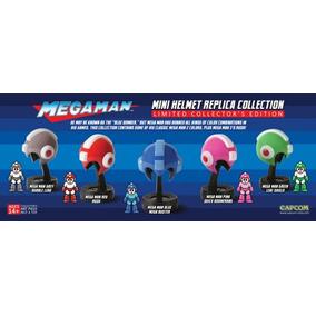 Megaman Colección Mínicascos Nuevos Sellados Originales