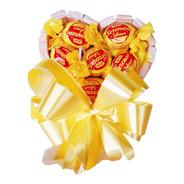 Cesta De Chocolate Mini Coração Romântico Presente Namorada