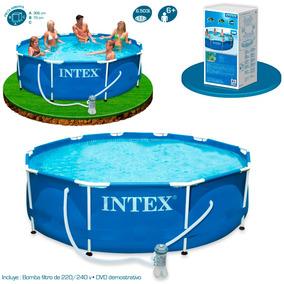 Piscina Intex 6503 Litros Estrutural C/ Bomba Filtrante 127v