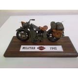 Réplica Esc. 1.18 - Harley Davidson - 1942 ( 2ª Guerra)