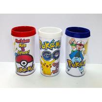 10 Vasos O Tazas Con Diseño Souvenir Pokemon Go