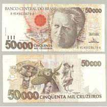 Dinheiro Antigo Cédula 50.000 Cruzeiros 1992 C-226 Promoção