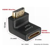 Zchd01 Codo Hdmi Hembra-macho Angulo 90º Qchd01q Compu-toys