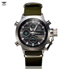 6ea3d5d8030 Rel Gio Masculino Amst 3003 Militar Esportivo - Relógios De Pulso no ...