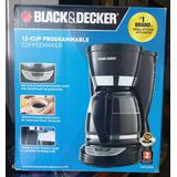 Cafetera Black&decker Cm1050b 12 Tazas Programable