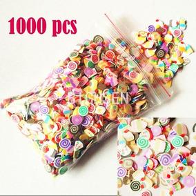 Oferta Pack De 1000 Fimos...decoraciones Para Uñas Variados
