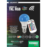 Lâmpada Colors Led Tkl Rgb 9w E27 - Taschibra