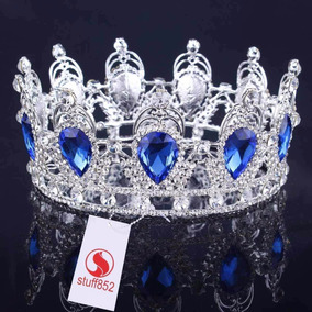 Corona Para Reina / Boda /xv Cristal Swarovski Tiara/diadema