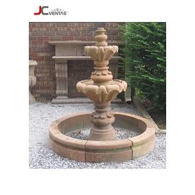 Piletas En Piebra , Fuente De Agua, Cascada, Jardín