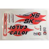 Adesivo De Bicicleta Caloi Sk Pro Vermelho Mtb