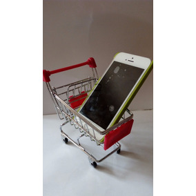 Carrito De Compras Miniatura Super Mercado Para Celular,etc