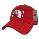 18cdec1337029 Gorras De Béisbol De La Bandera Americana Del Orgullo De Ra