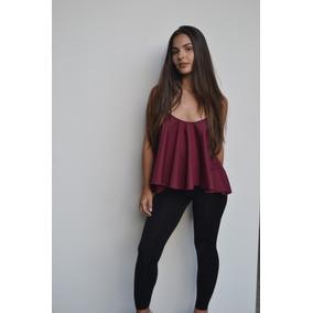Blusa Camisa Chifon Elegante Estampada Y Unicolor
