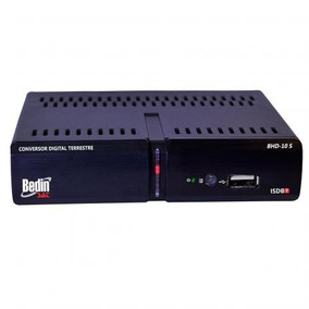 Conversor Digital Terrestre Bedinsat Bhd-10 S